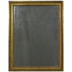 Late 18th Century French Carved Giltwood Mirror