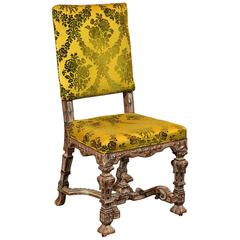 Antique Side Chair, French, 19th Century