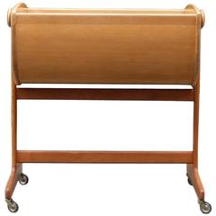 Nanna Ditzel Oregon Pine 'Lulu' Cradle Made by Danish Cabinet Maker Kold Saverk