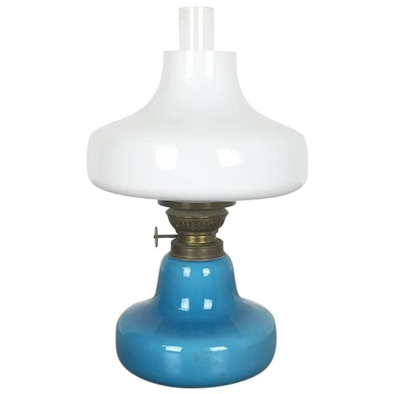 Vintage 1960s Oline Oil Table Light from Fog & Mørup, Denmark