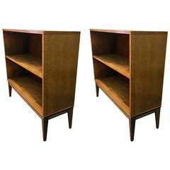 Pair of Solid Wood Bookcases by Paul McCobb Planner Group