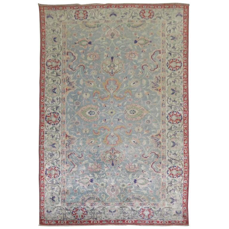 Silk Antique Turkish Sivas Rug