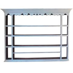 French 19th Century Provençal Four Shelf Plate Rack