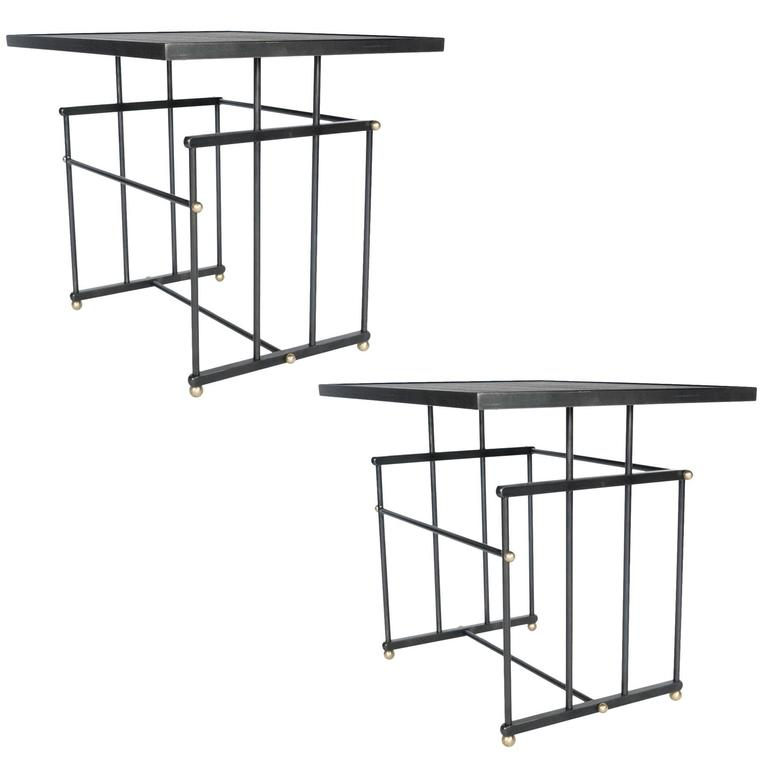 Pair of Plaisance Side Tables 1