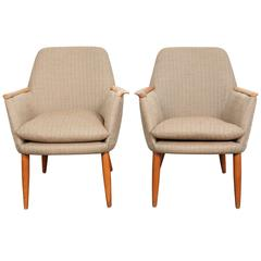 Mid-Century Modern Swedish Lounge Chairs
