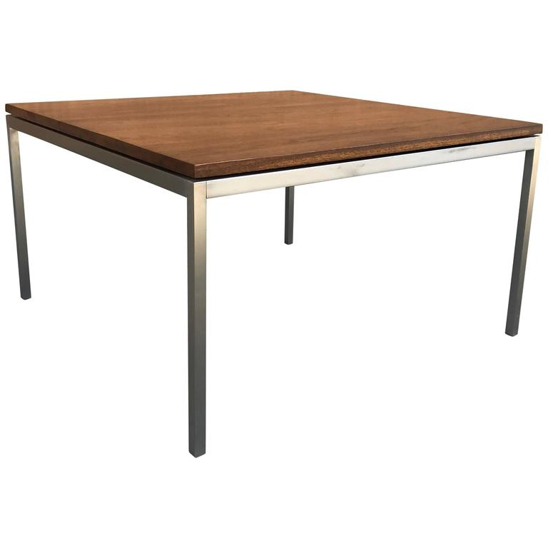 Floating walnut coffee table by florence knoll for sale at 1stdibs Florence knoll coffee table