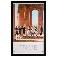 1963 Vintage Original Italian Travel Poster