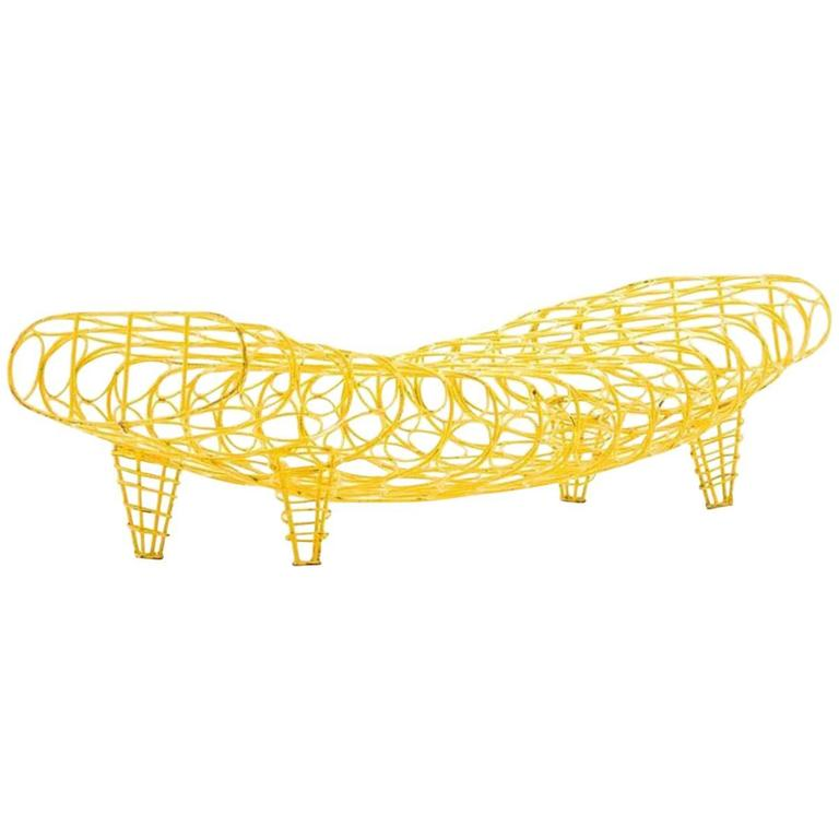 Moroso Gaal Bench or Daybed Suitable for Indoor and Outdoor Use