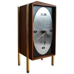 1960s Table Clock by Arthur Umanoff for George Nelson and Associates