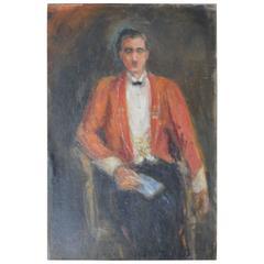 Primitive Portrait of a Military Gentleman, 1925