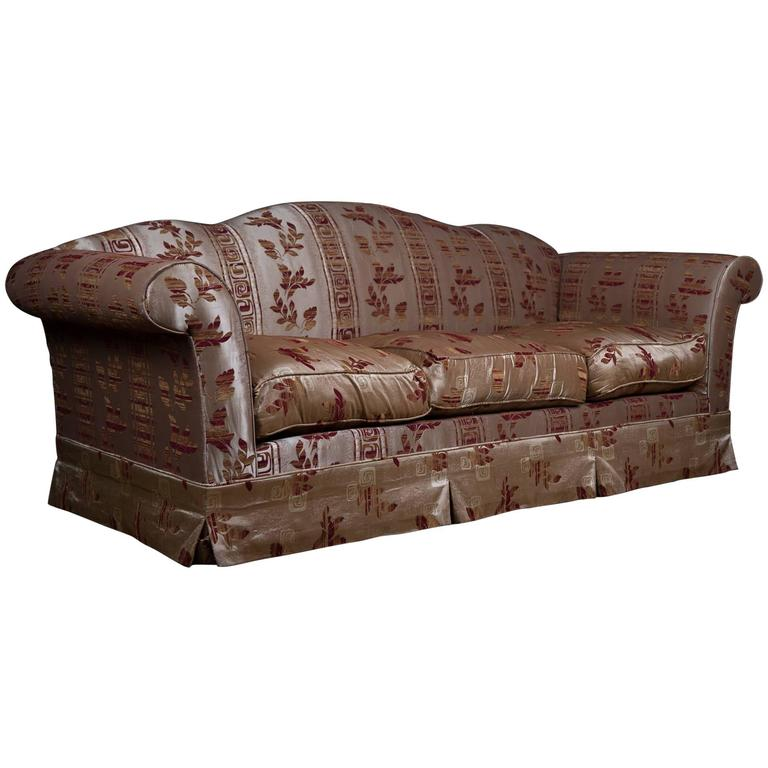 20th century original club sofa in english style for sale. Black Bedroom Furniture Sets. Home Design Ideas