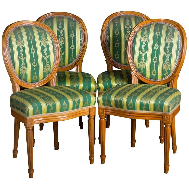 High quality chairs in the louis seize style for sale at 1stdibs - Louis th chairs ...