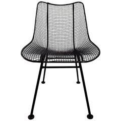 Single Russell Woodard Side Dining Sculptura Chair