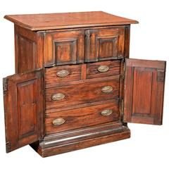 French Antique Specimen Cabinet, circa 1850