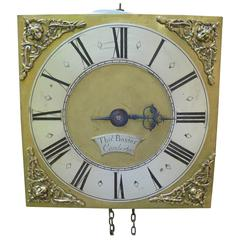 Antique Hook and Spike Wall Clock Thomas Baxter Condereton