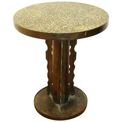 Phillip & Kelvin LaVerne Table in Etruscan Pattern