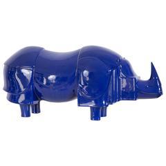 """""""Rhinoceros Bleu"""" by Lalanne, 1981"""