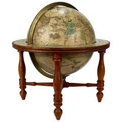 19th Century Franklin Celestial Tabletop Globe by Nims and Company