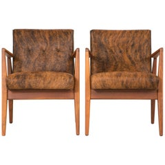 Set of Jens Risom Lounge Chairs