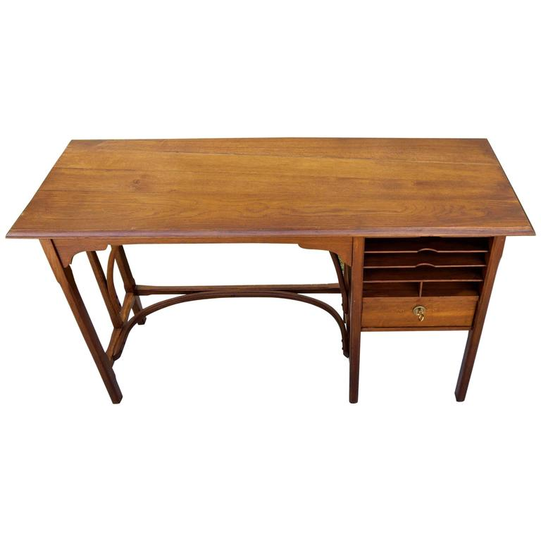 Thonet Bentwood Charming Writing Table Desk, 1900s