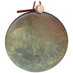 Late 19th Century Japanese Bronze Gong