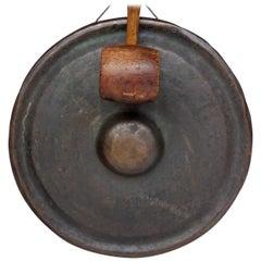 19th Century Japanese Bronze Gong