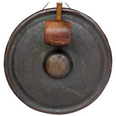 19th Century Japanese Bronze Gong
