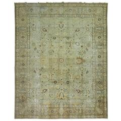 Shabby Chic Persian Tabriz Carpet