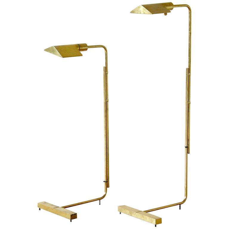 Pair of Adjustable Floor Lamps by Cedric Hartman 1