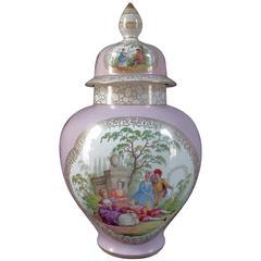 Meissen Augustus Rex Porcelain Ginger Jar