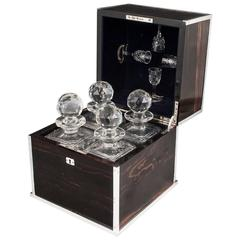 Betjemann & Sons Silver Decanter Box