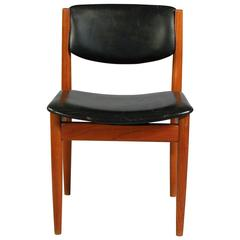 1960s Finn Juhl Teak Dining Chair Model 198 for France & Søn