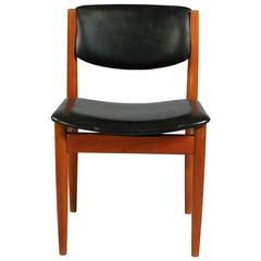 1960s Dining Chair Model 198 by Finn Juhl for France & Søn