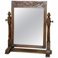 Ipswich Oak Dressing Mirror