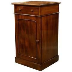 19th Century Mahogany Bedside Cupboard