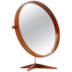Uno and Osten Kristiansson Luxus Table Mirror, Sweden, 1960