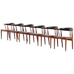 Johannes Andersen BA113 Dining Chairs, Denmark, 1969