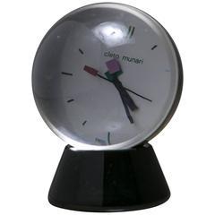 Table Clock by Cleto Munari