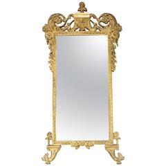 Gilded Beveled French Style Mirror by John Richard