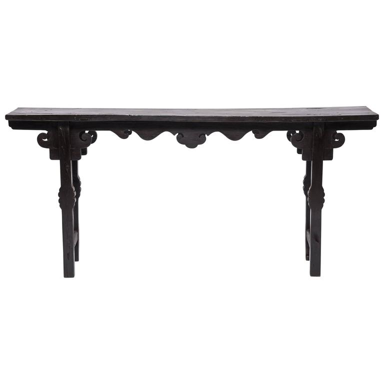 Chinese Provincial Console Table