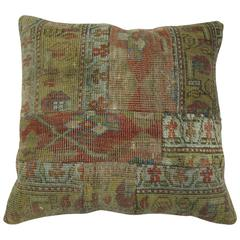 Malayer Patchwork Rug Pillow