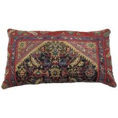 Antique Floor Rug Pillow
