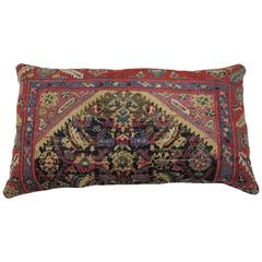 Antique Floor Rug Pillow