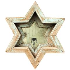 Antique Country Star Form Mirror