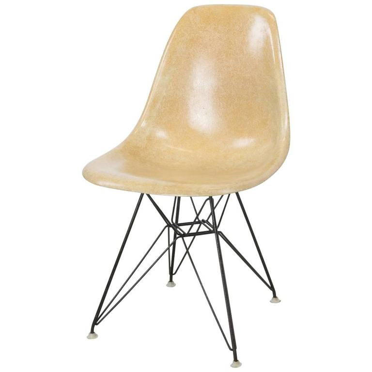 Wondrous Dsr Eiffel Base Side Chair By Charles And Ray Eames For Herman Miller Machost Co Dining Chair Design Ideas Machostcouk