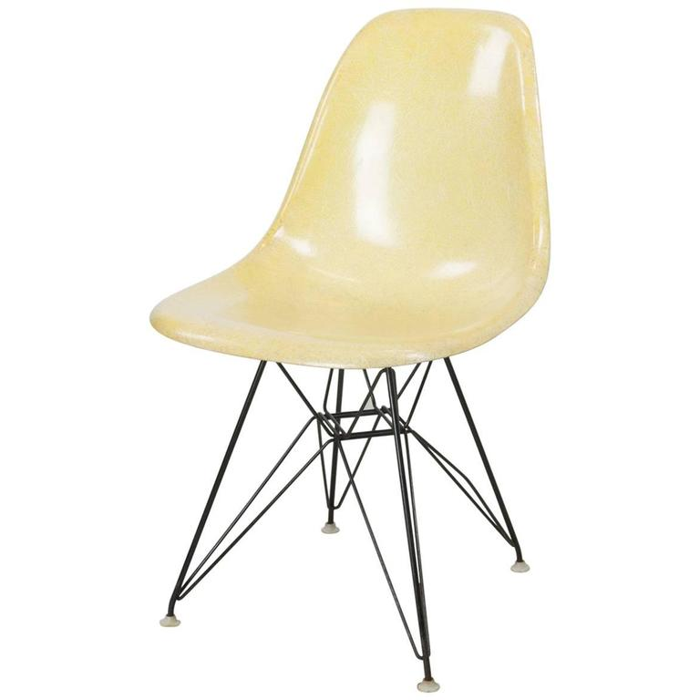 DSR Eiffel Base Side Chair by Charles and Ray Eames for Herman Miller 1