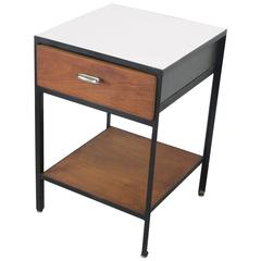 'Steel Frame' Nightstand #4051 by George Nelson for Herman Miller