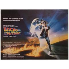 """""""Back To The Future"""" Film Poster, 1985"""