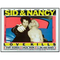 """Sid & Nancy"" Film Poster, 1986"