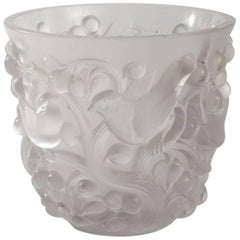 "Rene Lalique Vase ""Avallon"""